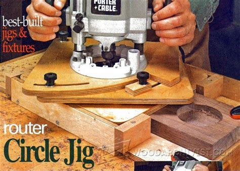 router circle jig woodarchivist