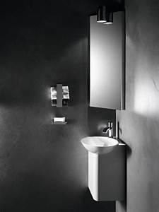 Lavabo D Angle Salle De Bain : lavabo lave mains d 39 angle insert d 39 alape salle de bains ~ Nature-et-papiers.com Idées de Décoration