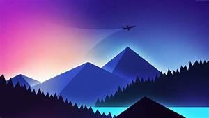 Wallpaper, Plane, Minimalism, Colors, 4k, Art, Wallpaper