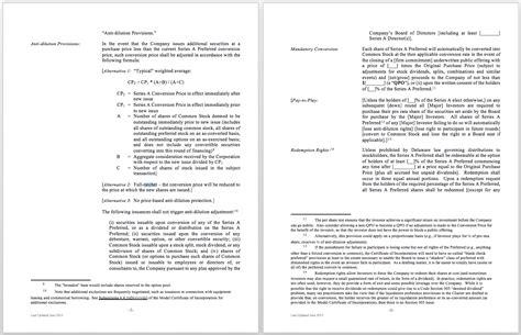 common term sheet pitfalls toptal