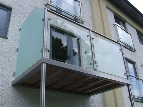 complete balconies balustrade  stainless