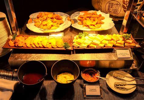 buffet cuisine tatsu japanese cuisine at intercontinental kuala lumpur