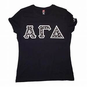 greek sorority letters hanes nano ladies sorority shirt With sewn on letters sweatshirts