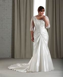 the information is not available right now With plus size short wedding dresses with sleeves