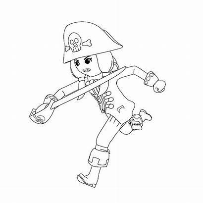 Playmobil Ruby Ausmalbilder Kleurplaat Piraat Coloring Kleurplaten