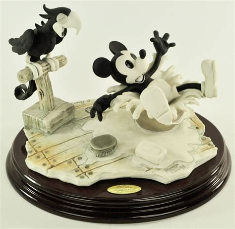 Steam Boat Delivery Number by Giuseppe Armani Steamboat Willie Figurine Disneyana Disney