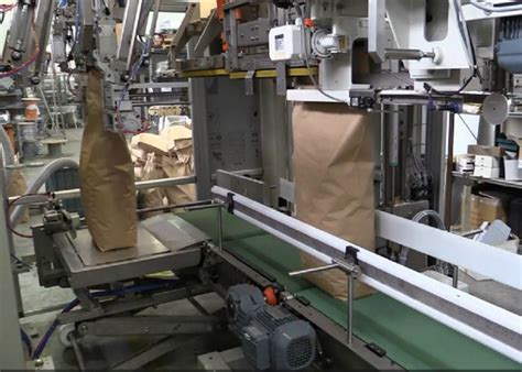 kg automatic bag packing machine open mouth bag granule packaging machine