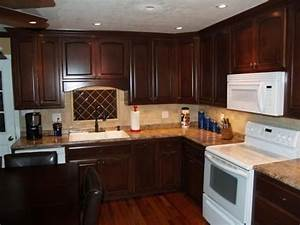 Light Stain For Red Oak Maple Wood With Dark Red Brown Mahogany Mahogany Kitchen