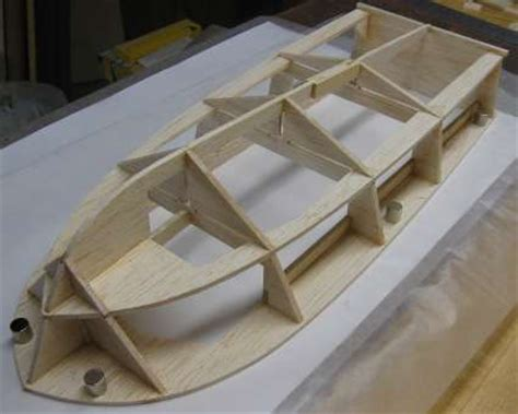 Model Boat Hull Construction by Build An Rc Boat Hull Part Two