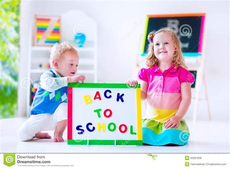 when do children go to preschool at preschool painting stock photo image 55567936 959
