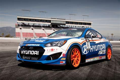 Formula Drift Car by 2013 Hyundai Genesis Coupe Formula Drift Car Autoevolution