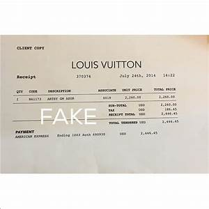 louis vuitton receipt With www cit com invoices