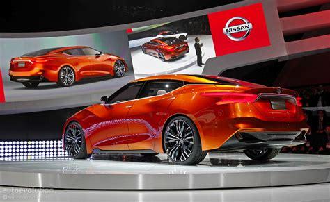 Nissan Sport Sedan Concept Previews The 2016 Maxima [live