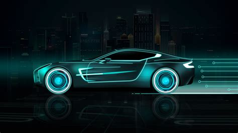Animated Cars Hd Wallpapers - neon cars wallpapers 183