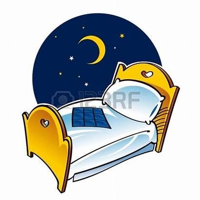 Moon Sleeping Clipart Sleep Night Clipartpanda Bed