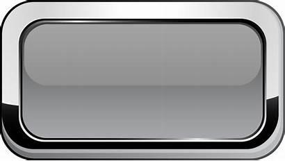 Button Square Buttons Gray Clipart Grey Clip