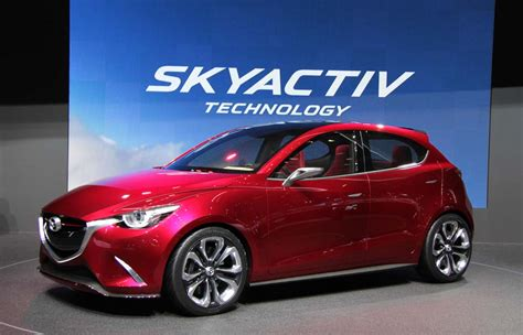 mazda maker hazumi concept foreshadows maker s next mazda2