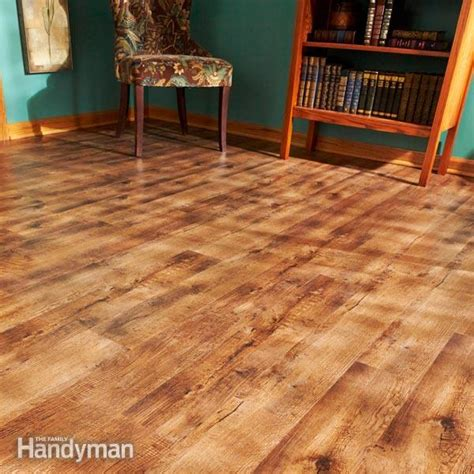 vinyl plank flooring or bad how to install luxury vinyl plank flooring family handyman