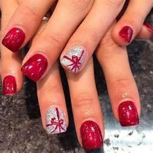 Christmas nail art designs santa nails and