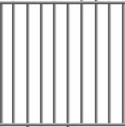 Empty Zoo Cage Clip Art