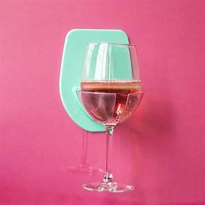 Watt, Plastic, Wine, Glass, Holder, For, The, Bath, Shower, Red, Wine, Glass, Holder, Shelf, Accessories, Tools