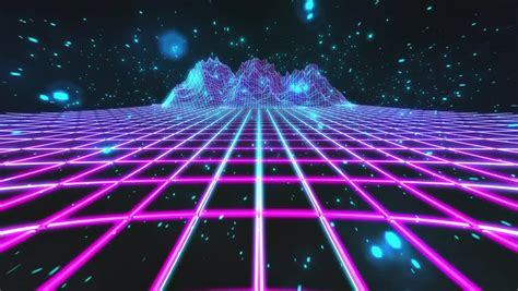 Retro Neon Wallpaper Pc by Retro Neon Background 3 Background Check All