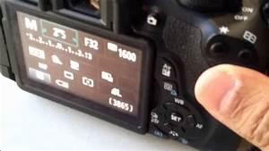 Camara Canon Operaci U00f3n En Modo Manual