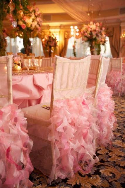 wedding trends ruffled chairs the magazine