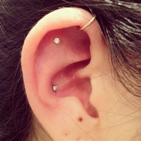 The 25 Best Outer Conch Piercing Ideas On Pinterest