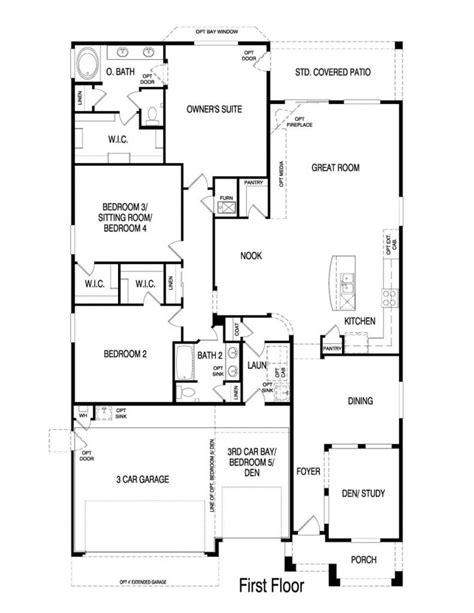 fresh pulte home floor plans home plans design