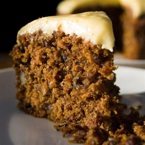 walnut raisin carrot cake recipe