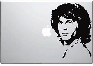 Frontman Gadget Stickers : ImageLab3 jim morrison decal