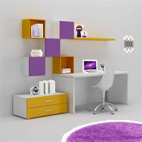 meubles rangement bureau bureau enfant trés coloré moderne compact