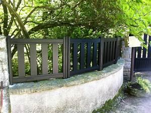 Muret De Cloture : portails et cl tures ~ Melissatoandfro.com Idées de Décoration