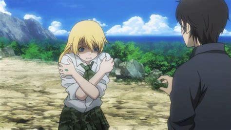 anime island down btooom anime amino
