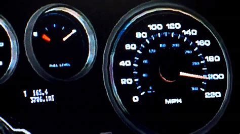 Ford Gt Speedometer by Ford Gt Top Speed Run Gt6