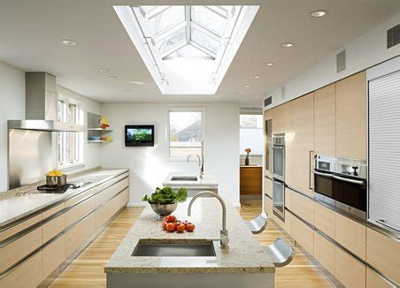 beautiful design  big kitchen  natural colors digsdigs