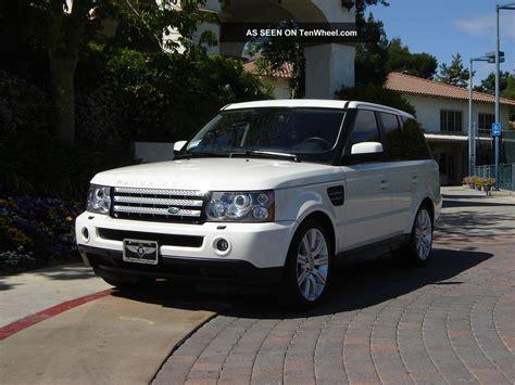 luxury black range rover 2009 range rover sport luxury ed white black 2011