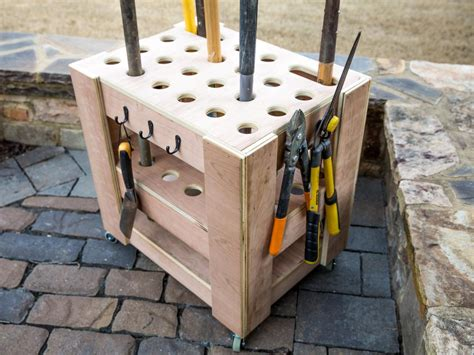 how to build a storage cart for yard tools how tos diy