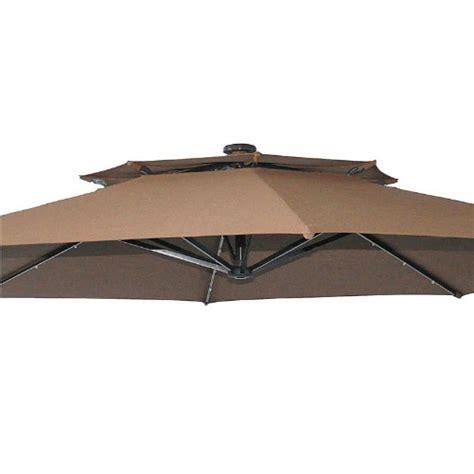 bhg solar offset ft umbrella replacement canopy garden winds