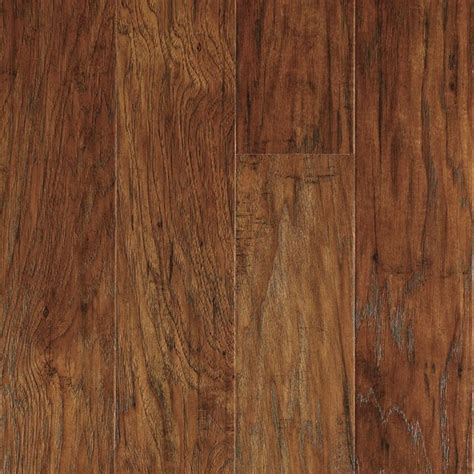 laminate wood flooring at lowes shop allen roth 4 7 8 in w x 47 1 4 in l marcona hickory laminate flooring at lowes com my