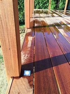 terrasse bois etanche good etanchit toiture terrasse with With rendre une terrasse etanche