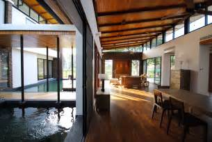 home architecture feng shui house feels like it s floating on a lake