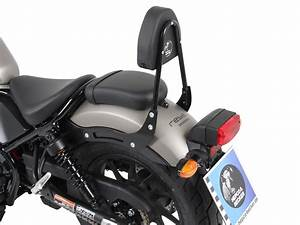 Honda Cmx 500 Rebel : sissybar without rearrack black cmx 500 rebel 2017 honda my bike ~ Medecine-chirurgie-esthetiques.com Avis de Voitures