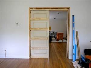 How to build a pocket door - C R A F T