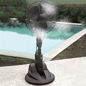 Evaporative Misting Fan - The Green Head