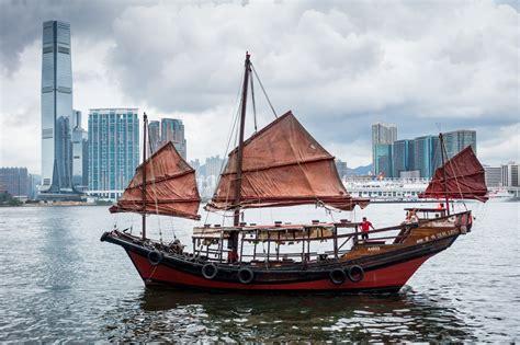 Sailing Boat Hong Kong by Junk Boat In Hong Kong Ed O Keeffe Photography