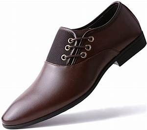 Marino Oxford Dress Shoes for Men - Formal Leather Shoes ...
