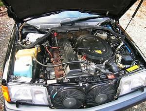 1993 Mercedes 190e 2 6 Limited Edition Engine Bay