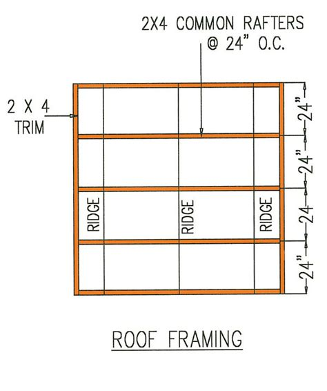 8x8 shed floor plans 8 215 8 gambrel storage shed plans for building a lasting